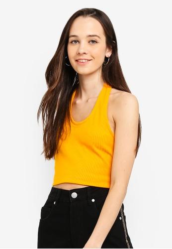 Cotton On yellow Leona Halter Top B4928AA2E05680GS_1