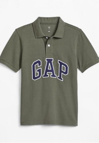 Gap Kids Logo Polo Shirt 2021
