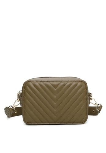 Milliot & Co. green Viola Sling Bag 7583FACA3AF692GS_1
