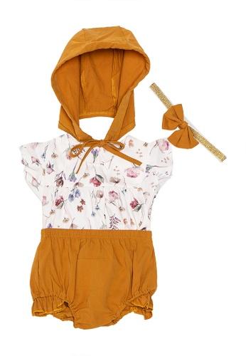 RAISING LITTLE blue Gaston Outfit Set 337A6KA01E95ADGS_1