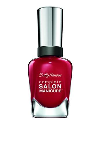 Sally Hansen red Moroccan Roll Nail Polish SA454BE0KEBFPH_1
