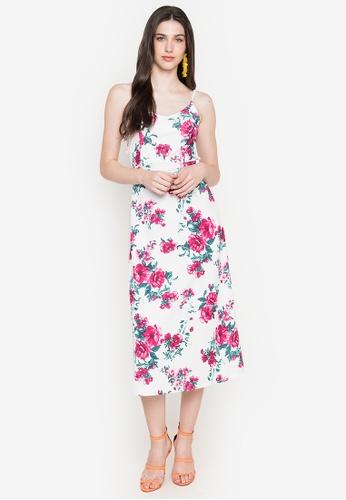 Deity white Cami Backless Maxi Dress 2999BAA2503E07GS_1