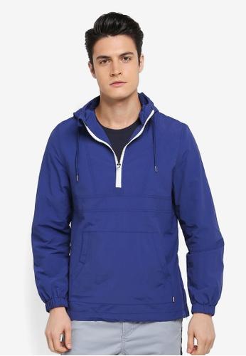 Cotton On blue Vintage Spray Kagoul Jacket 367B2AAC84CE93GS_1