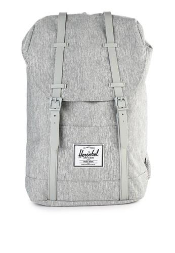 Herschel grey Retreat Backpack 0449AACDC8B12BGS_1