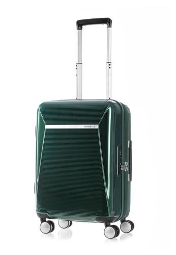 Samsonite green Samsonite Enwrap Spinner 55/20 EXP Luggage 1C5E3ACA3A5585GS_1