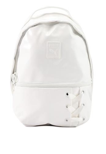 a684b2b0e3 Puma white Prime Archive Crush Backpack 8F769AC1BE7B9EGS 1