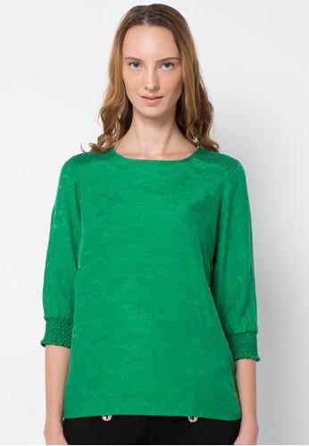 EPRISE green Blouse EP457AA05AKKID_1