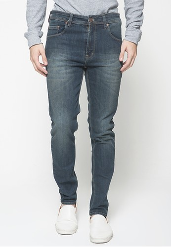 2nd Red blue and grey 2Nd Red Jeans Slim Fit Premium Denim Stretch 133221A C123CAA50CEC4BGS_1