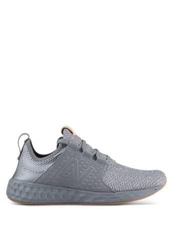New Balance grey CRUZ Fresh Foam Performance Running Shoes NE323SH0SS04MY_1