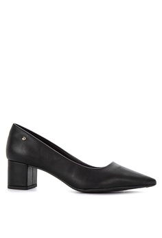 099d4b704a55 G G black Medium Heeled Closed Shoes A8131SHD00E199GS 1