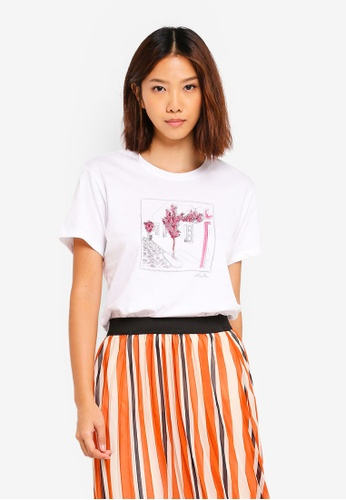 Cotton On white Tbar Fox Graphic T-Shirt 98E74AAB2FEF14GS_1