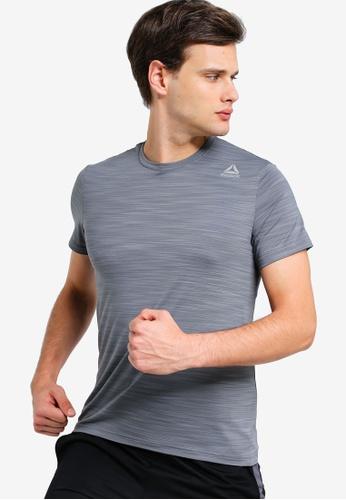 Reebok 灰色 Activchill 短袖T恤 78EDFAAD94B4BCGS_1