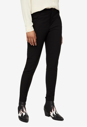 Vero Moda black Victoria Ankle Trousers 429A2AA398F81AGS_1