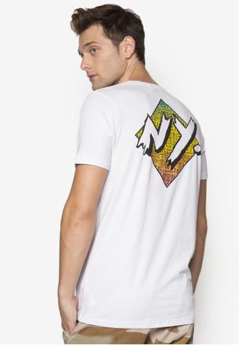 文字設計短袖TEE,zalora退貨 服飾, 服飾