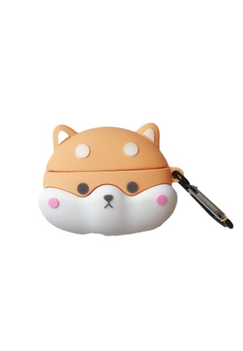 Kings Collection brown Corgi Puppy AirPods Case (UPKCAC2121) CA269AC7115C43GS_1