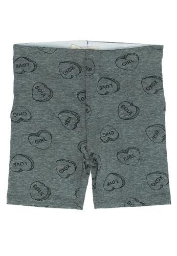 FOX Kids & Baby grey Baby Girl Shorts B55B8KAB0FFD38GS_1