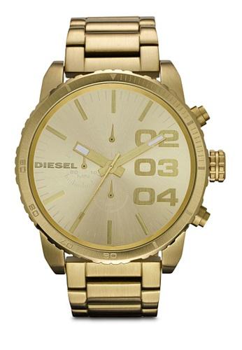 Diesel gold Diesel Double Down 51 Stainless Steel Watch DZ4268 DI095AC63AXKMY_1