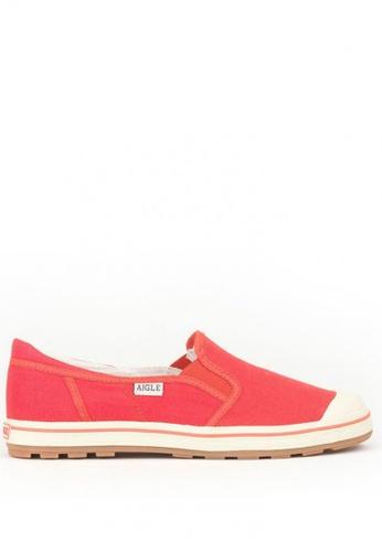 Aigle pink Valrea Slip-On Sneakers D0A80SHE84E955GS_1
