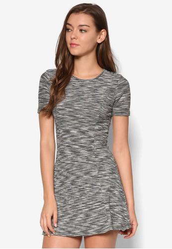 Petite 寬擺短袖洋裝,esprit china 服飾, 洋裝