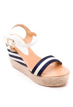 Arlene Wedge Sandals