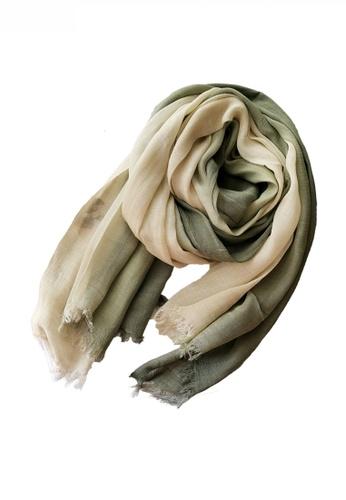 HAPPY FRIDAYS Cotton Yarn Mix Color Tie Dye Scarf JW JS-1100 253B7ACC6ABCC3GS_1