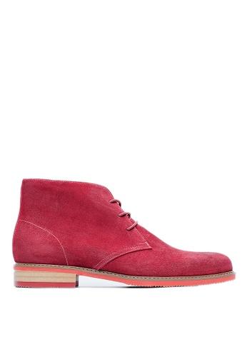 Life8 red Formal High Cut Boots-09683-Red LI283SH0FUTGSG_1