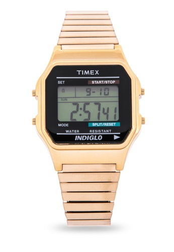 TIMEX gold Mens Stainless Steel Watch TI205AC38CCNPH_1
