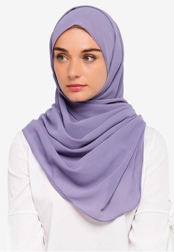 Najjah purple Jasmine Instant Shawl CA331AAEF2270AGS_1