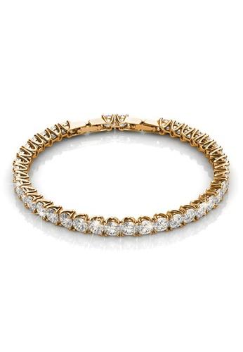 Krystal Couture 金色 KRYSTAL COUTURE Honey Bracelet Embellished with Swarovski crystals B0DE9AC4A7AB39GS_1