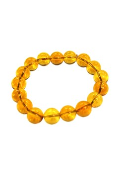 Manmico Feng Shui Lucky Charms Citrine Bracelet for Money Luck