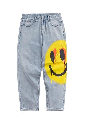 Twenty Eight Shoes Wide Print Casual Jeans 3091S20 402EDAA883B4C1GS_1