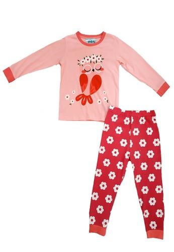 Boboo pink Piyama Anak Pink Owl LSLP27 9421EKAC12C44FGS_1