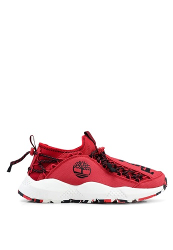 Timberland red Ripcord Bungee Shoes 00C8BSHDAB0ECFGS_1