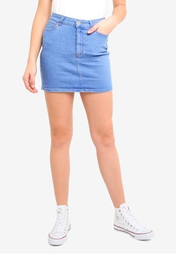 Factorie blue Malibu Stretch Skirt FD05BAA3627D50GS_1