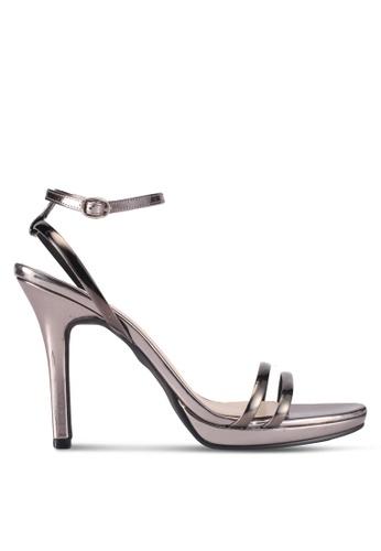 Bata silver Bata Strappy Heels 47761SH8805C9CGS_1