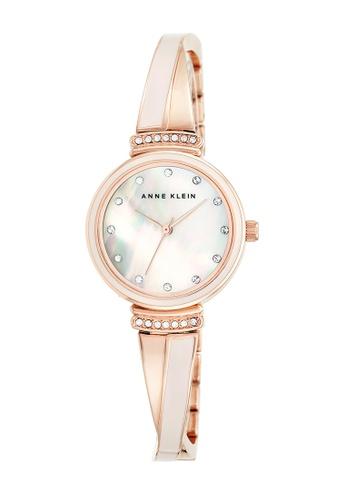 Anne Klein pink Anne Klein Ladies - Swarovski Crystal-Accented Watch - AK-2216BLRG AN844AC0RGSNMY_1