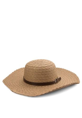扣環繫帶圓頂帽, 飾品配件esprit 請人, 爵士帽