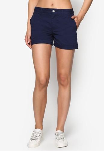 棉質休閒zalora 衣服尺寸短褲, 服飾, 短褲