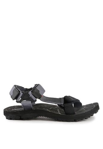 CARVIL black Carvil Sandal Shibo-Gm 1D6D4SH0619E18GS_1