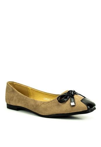 Mario D' boro Runway beige Ada Flat Shoes FE01BSHE30171DGS_1