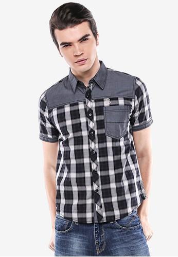 Johnwin black and grey Johnwin -  Slim Fit - Casual Active - Black/Gray. 118E1AA47F3565GS_1