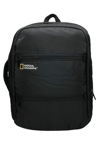 National Geographic black National Geographic Transform 2 Compartment Backpack Black BF19AACF103260GS_1