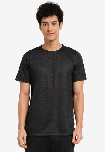 Cotton On black and multi Coar Active Tee 094FCAAA5BC114GS_1