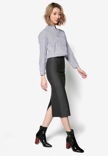 基本款及膝鉛筆esprit outlet 台灣裙, 服飾, 裙子