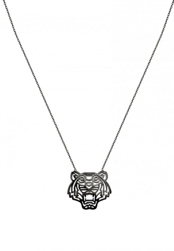 Kenzo silver KENZO TIGER NECKLACE BA1D6AC42A8A74GS_1