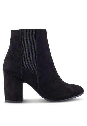 Dorothy Perkins black Black Anya Heeled Boots DO816SH0RV4LMY_1