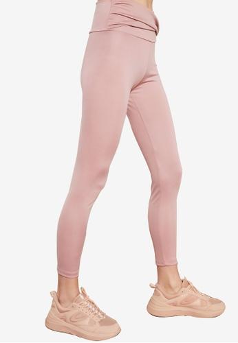 Trendyol pink Twist Detailed Leggings CC183AA4203479GS_1