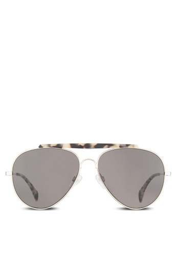 Tommy Hilfiger gold Asian Fit Gigi Hadid Capsule Collection Sunglasses TO861GL05VECMY_1