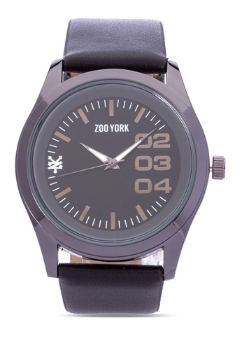 Zoo York black Analog Watch ZO541AC0IT13PH_1