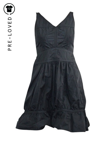 Marc By Marc Jacobs blue Pre-Loved marc by marc jacobs Navy Nylon Mini Dress 19753AA5CC047AGS_1